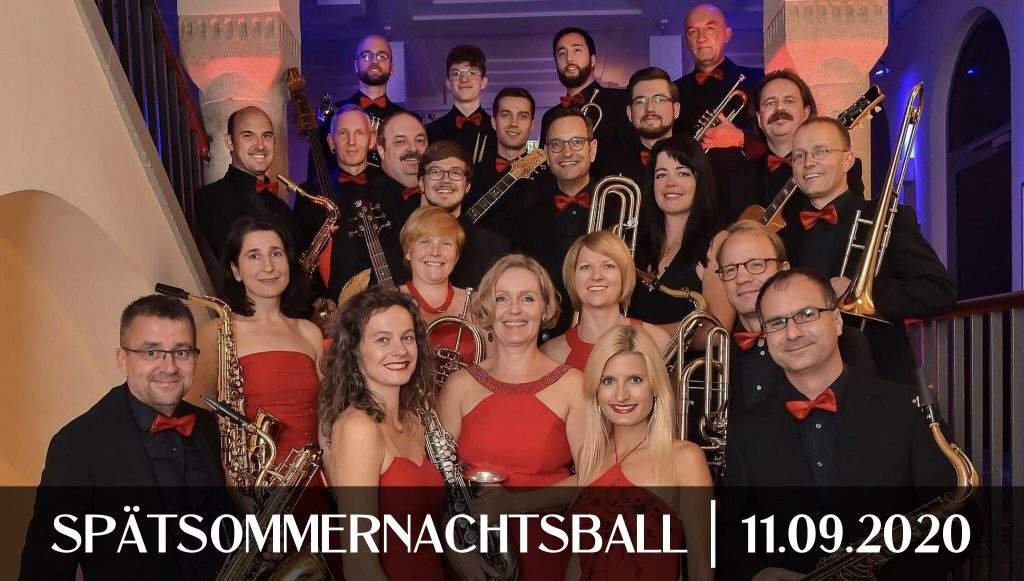 Spätsommernachtsball 2020 in Bad Tennstedt, Spät-Sommernachtsball in Bad Tennstedt, Jena Big Band