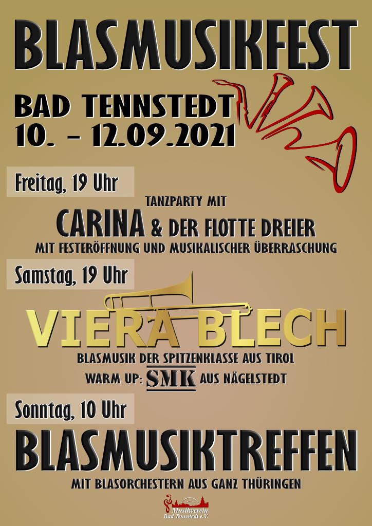 VIERA BLECH, Bad Tennstedt, Blasmusikfest, Blasmusik, Viera blech live, Konzert, Party, Blaskapelle, Blasmusiktreffen, Blasmusik