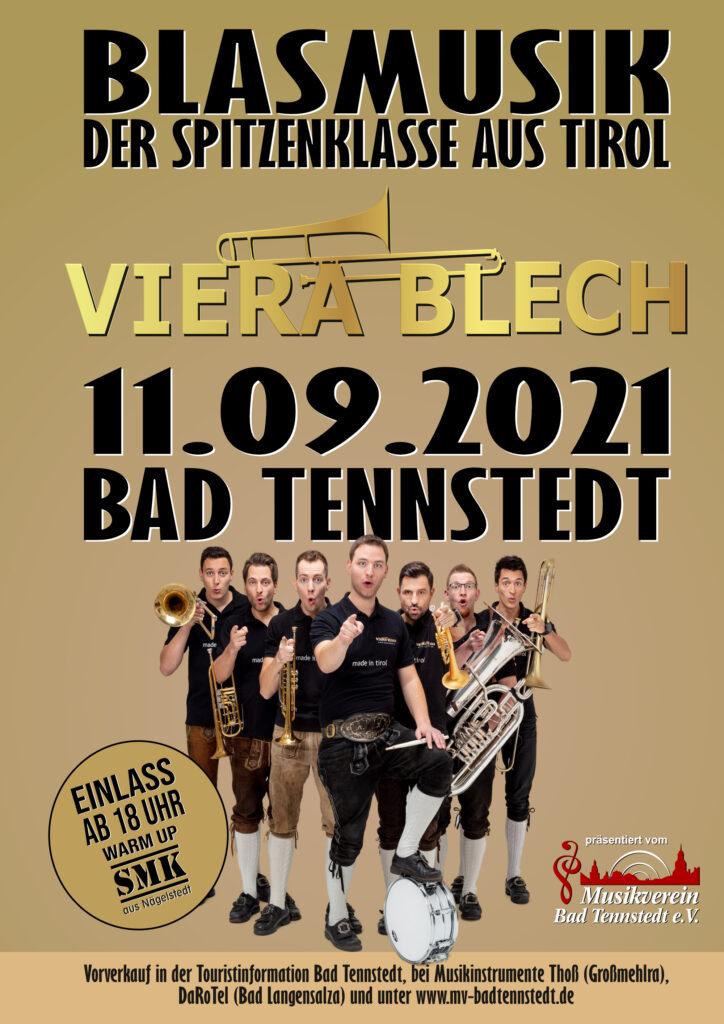 VIERA BLECH, Bad Tennstedt, Blasmusikfest, Blasmusik, Viera blech live, Konzert, Party, Blaskapelle, Tirol, Thüringen, Martin Scharnagl